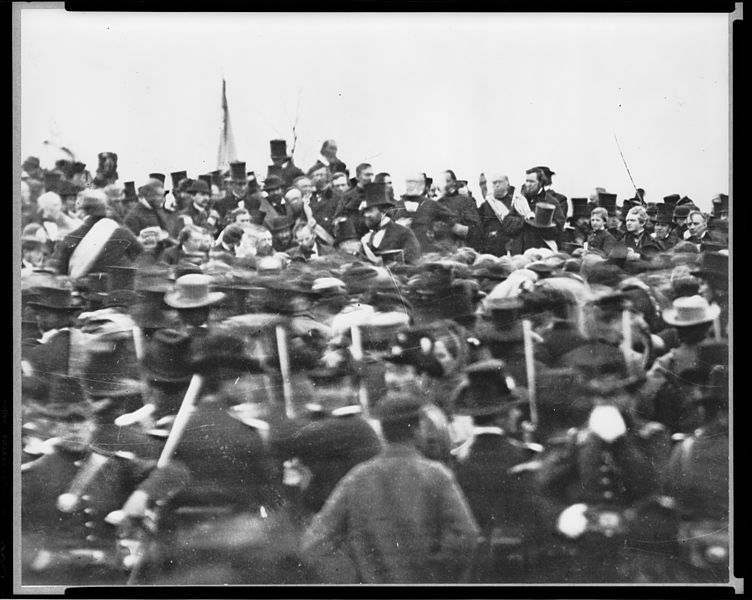 Lincolns Rede in Gettysburg