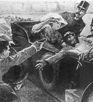 Gavrilo Princip assassinates Franz Ferdinand