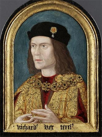 Richard III earliest surviving portrait