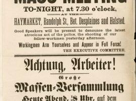 1. Mai 1886 Haymarket Massacre – Der 1. Mai war geboren!