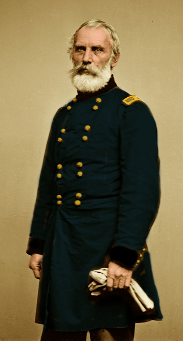 John Joseph Abercrombie colored Sepia