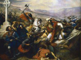 Hergang und Bedeutung der Schlacht bei Tours und Poitiers von 732