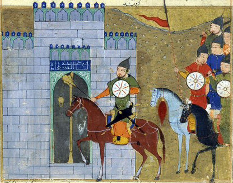 Die Eroberung von Peking durch Dschingis Khan