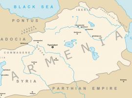 Armenien in den Jahren 224 bis 305