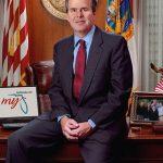 """John Ellis """"Jeb"""" Bush ist der Bruder von George W. und war von 1999 - 2007 Gouverneur von Florida. Er möchte der Nachfolger von Barack Obama im Amt des US-Präsidenten werden."""