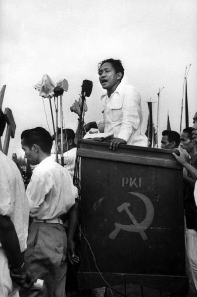 Der Vorsitzende der Kommunistischen Partei Aidit