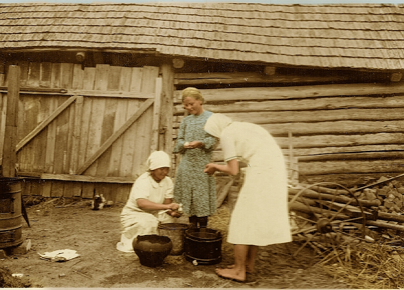 Scannen 135 Ukraine 1941 Colored