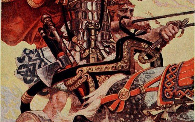 Kelten in mystifizierter Darstellung