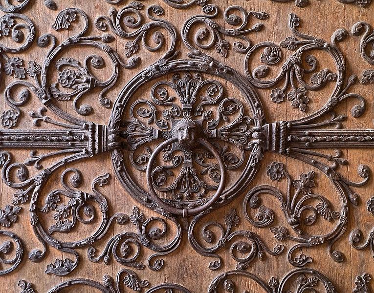 Asylring am Eingang zu Notre-Dame, Paris: Wer ihn erreichte, entging vorläufig seinen Verfolgern. Photo: Myrabella/Wikimedia Commons, via Wikimedia Commons