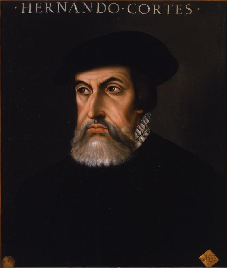 Hernan Cortes bezwang die Azteken
