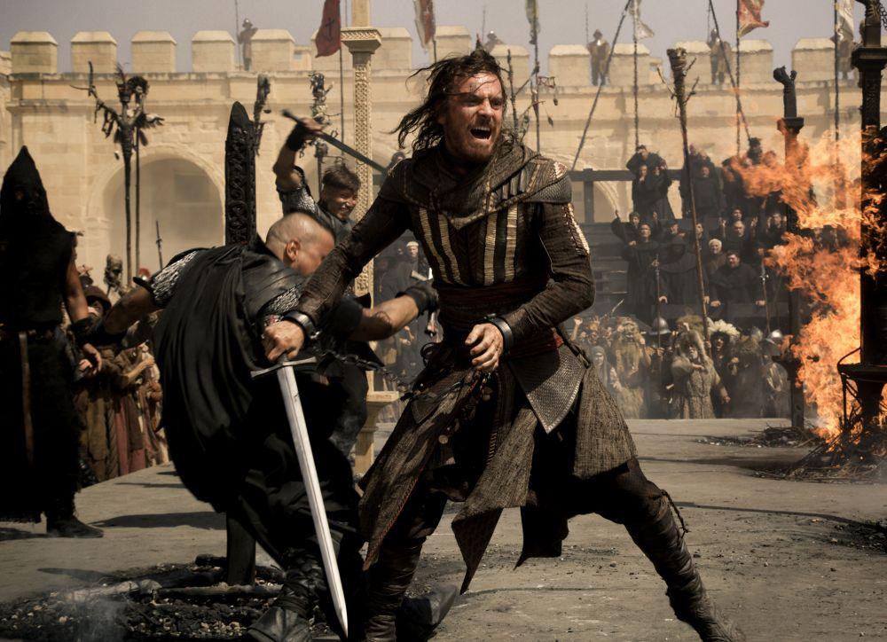 Assassine Aguilar beim Kampf gegen die Templer © 2016 Twentieth Century Fox