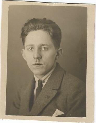 Toifl im Jahr 1922, Privatbesitz Felizitas Toifl
