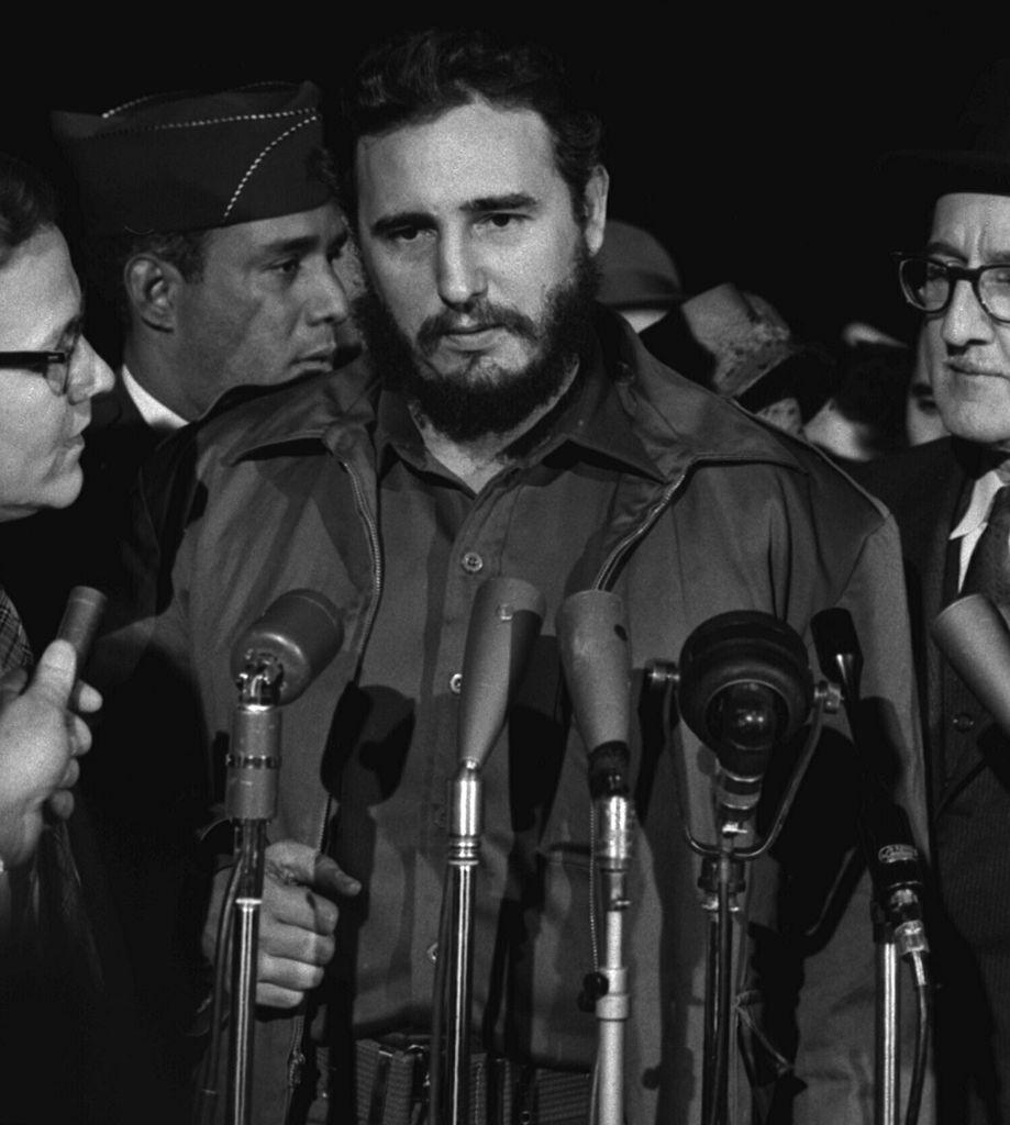 Fidel Castro im Jahr 1959