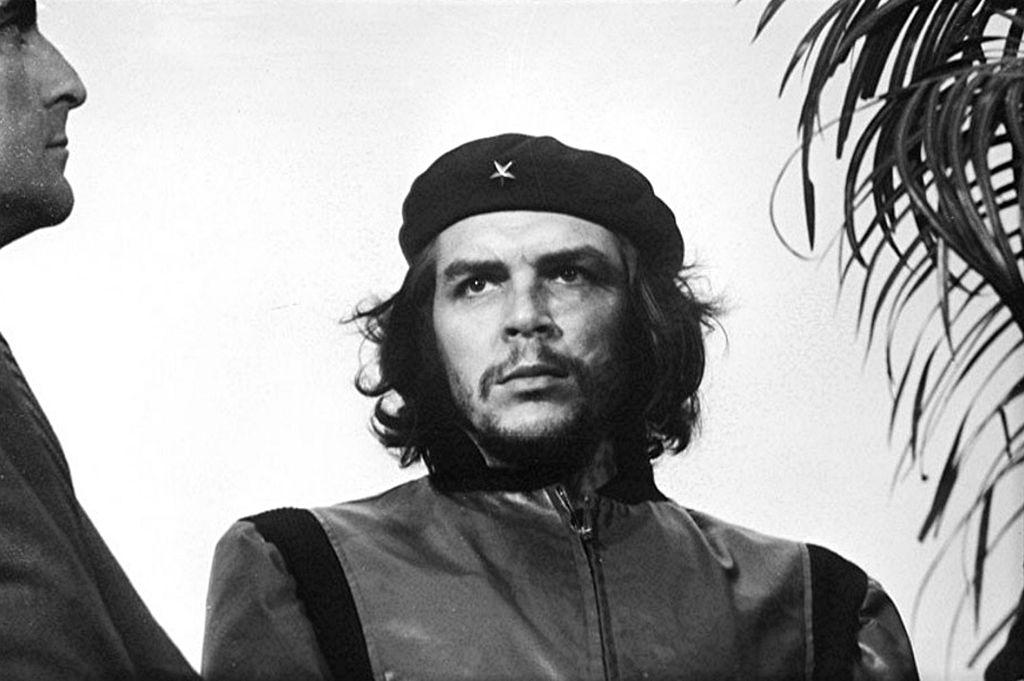 Che Guevara auf einer der bekanntesten Fotografien