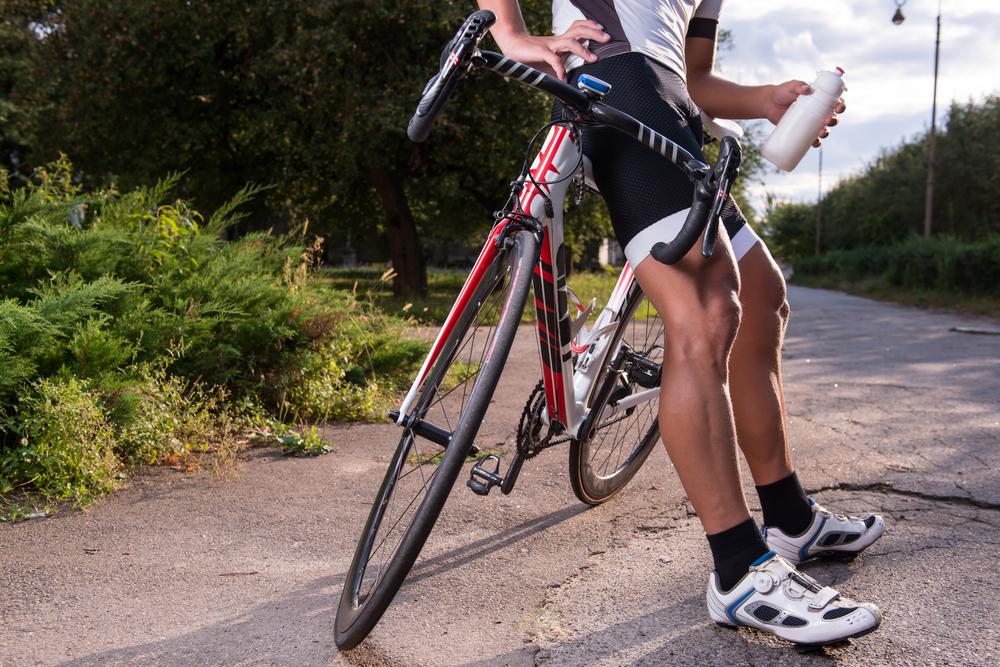 Die Verpflegung der Radsportler