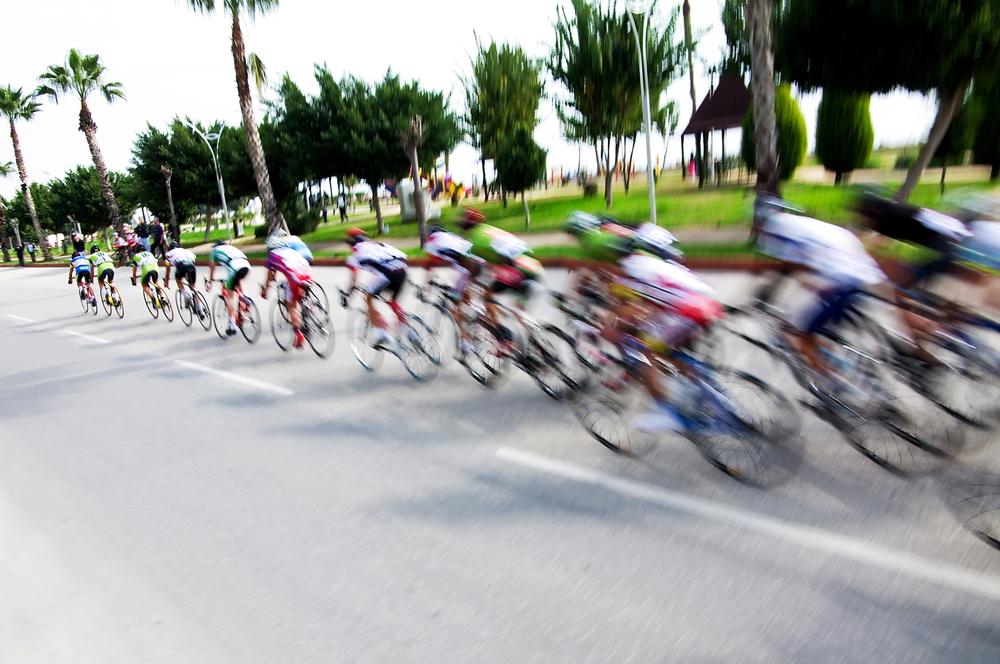 Fahrer bei Radrennen