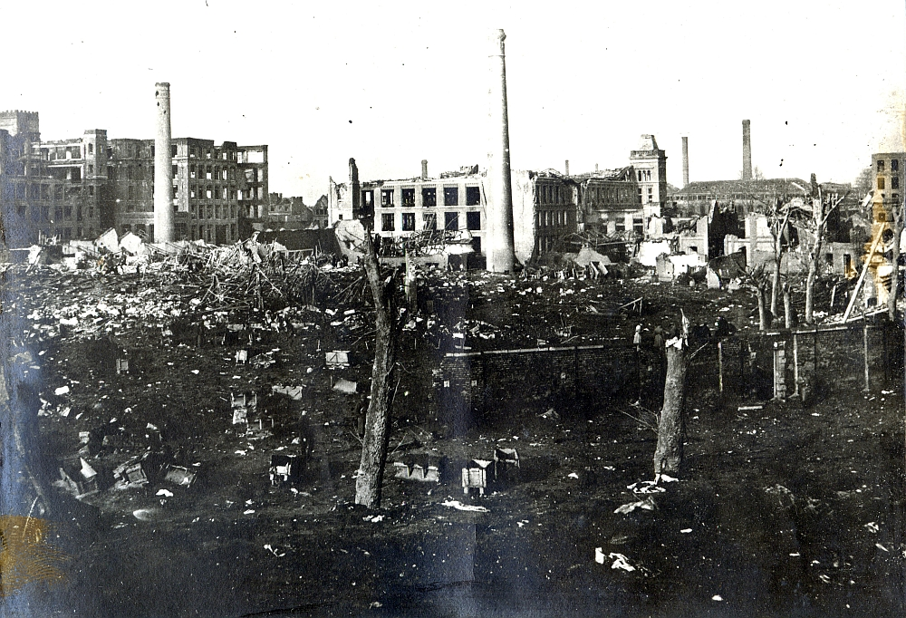 Explosionsunglück in Lille