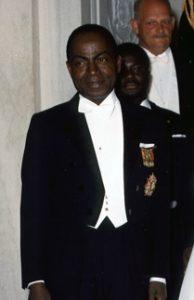 Félix Houphouët-Boigny (1962) Quelle: Wikipedia