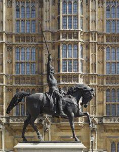 Reiterstandbild von Baron Carlo Marochetti, 1860, in London. Bildnachweis: Dennis Gilbert