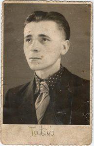Stanisław kurz nach seiner Rückkehr nach Polen 1945