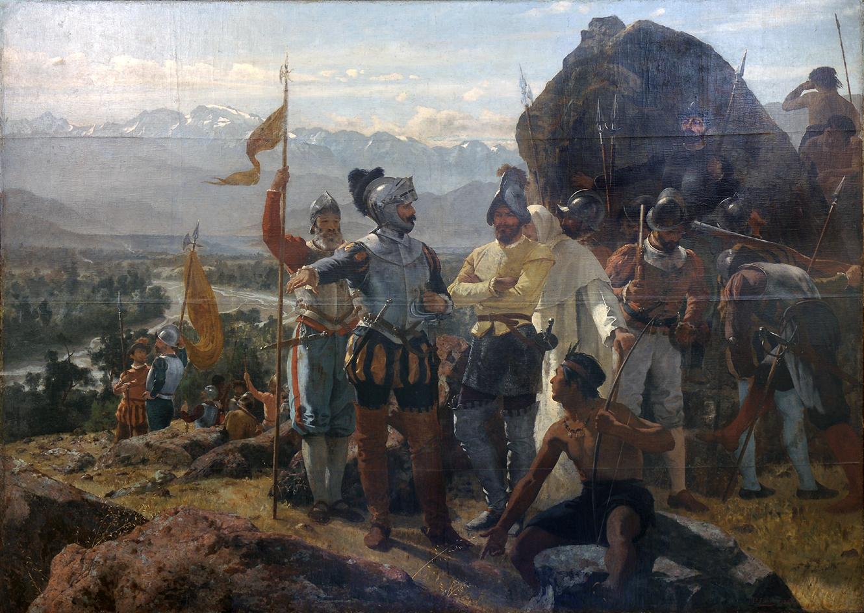 Die Konquistadoren in Lateinamerika