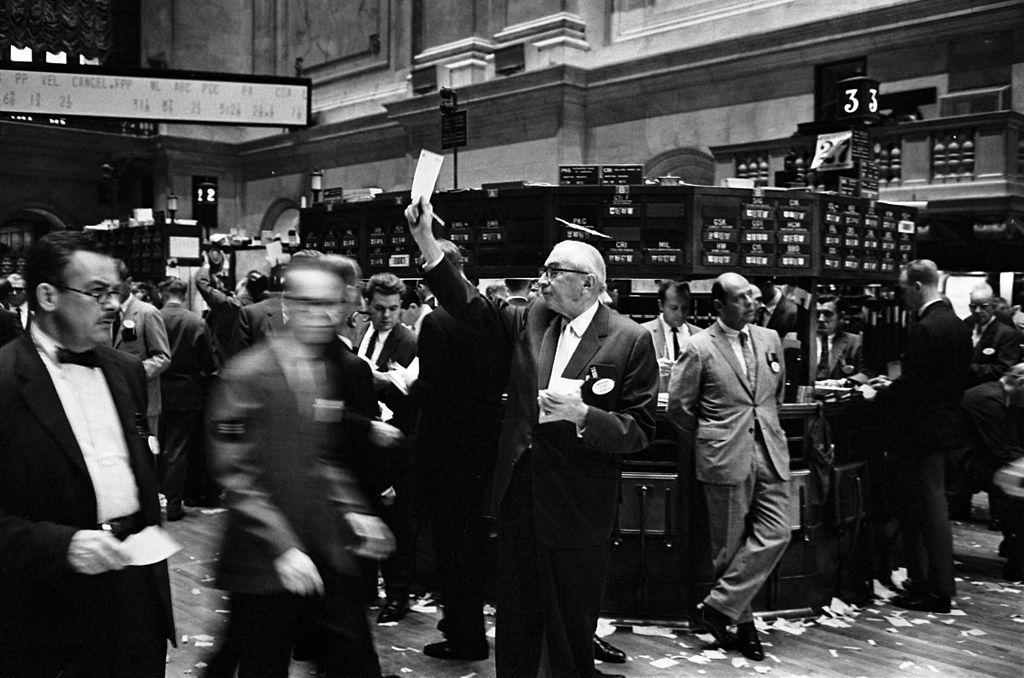 Der Börsenhandel - Bild von Thomas J. O'Halloran, photographer [Public domain], via Wikimedia Commons