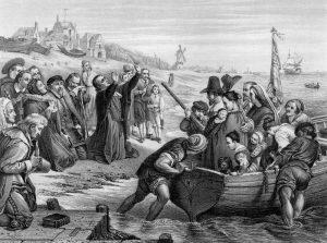 Hauptanliegen der Siedler war es letzten Endes, einen Ort zu finden, an dem sie ihre Strömung des Christentums frei ausüben konnten. Bild fotolia.com © Tony Baggett