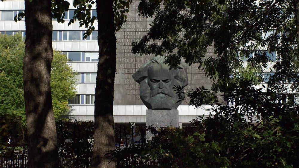 Marx Monument in Chemnitz, (c) Bild von Peter Dörfler