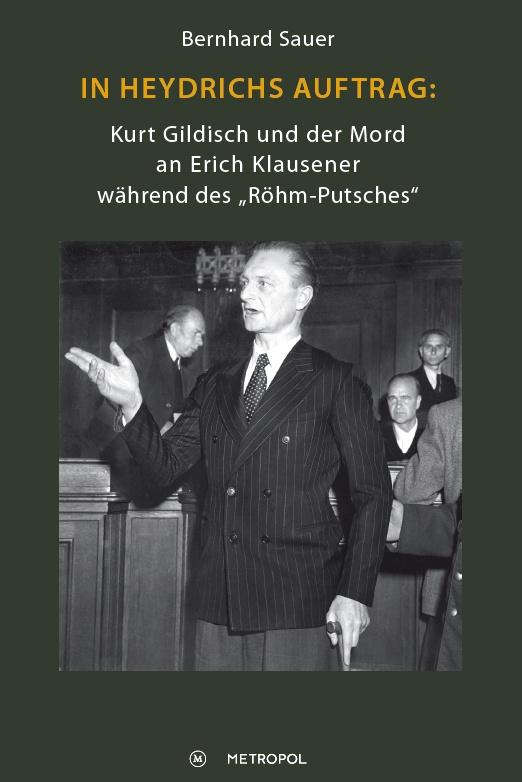 Bernhard Sauer widmet sich dem Mord an Erich Klausener, einem Spitzenbeamten und Katholiken. Bild (c) Bernhard Sauer
