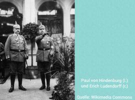 Das Ende des I. Weltkriegs