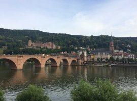 Blick auf die Altstadt von Heidelberg, eigene Aufnahme (rof)