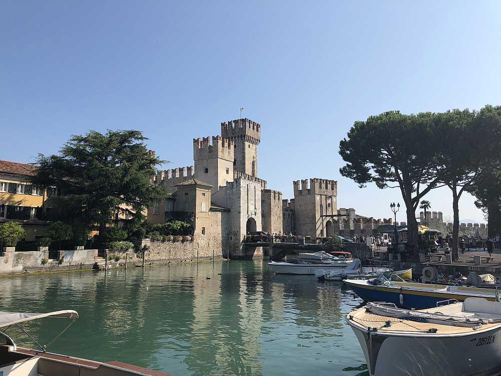 Eine der schönsten Burgen am Gardasee