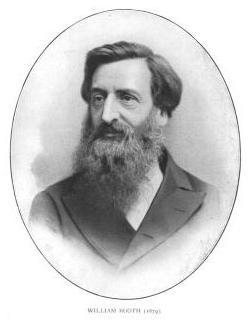 William Booth war der Gründer und erste General der Heilsarmee.