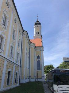 Ansicht auf das Klostergelände