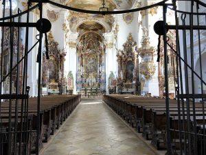 Eingangsbereich Klosterkirche