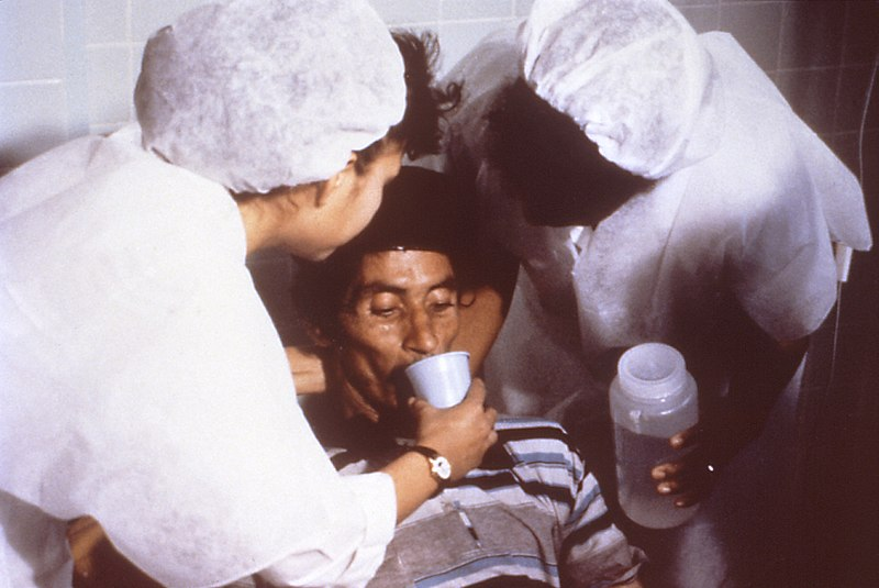 Cholera-Behandlung