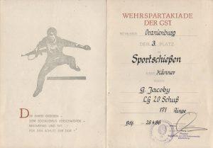 Urkunde 1986