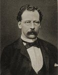 """Adolf Lüderitz (1834-1886) war der erste Landbesitzer im heutigen Namibia und bereitete daher den Weg für die deutsche Kolonie """"Deutsch-Südwestafrika"""". Die Gebiete hatte der """"Lügenfritz"""" unter äußerst zweifelhaften Umständen erworben (so genannter Meilenschwindel)"""