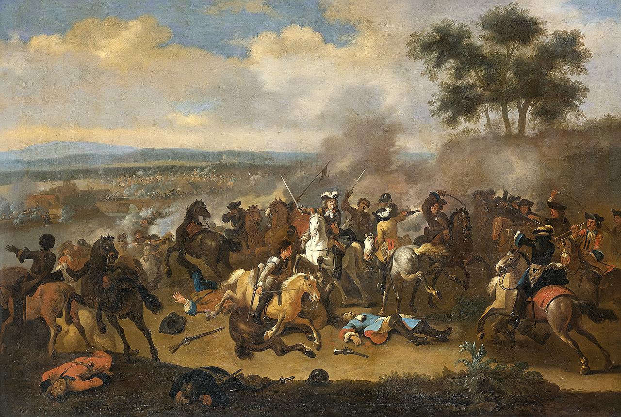 Schlacht am Boyne (Gemälde von Jan van Huchtenburg)