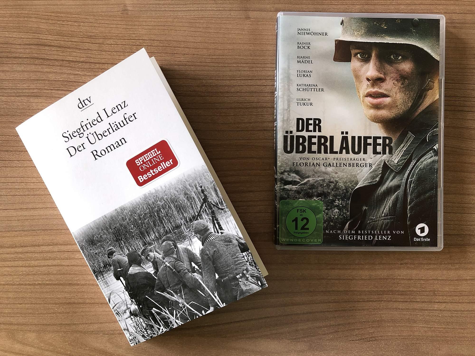 """""""Der Überläufer"""" behandelt zentrale Themen des II. Weltkriegs und überzeugt sowohl als Roman wie auch in seiner filmischen Umsetzung."""