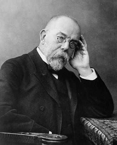 Robert Koch. Fotogravur nach einer Fotografie von Wilhelm Fechner, um 1900. Lizenz: Gemeinfrei