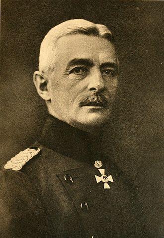 Walther Freiherr von Lüttwitz (geboren: 02. Februar 1859; gestorben 20. September 1942)