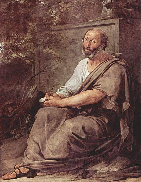 Aristoteles - Gemälde von Francesco Hayez 1811